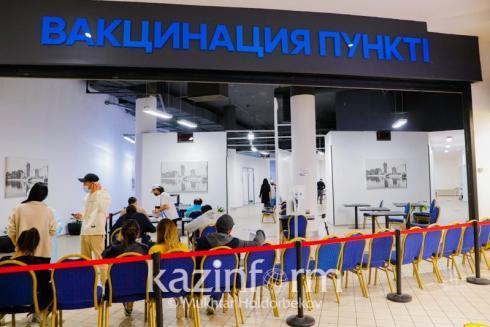 Свыше 7,5 млн казахстанцев получили первый компонент вакцины от COVID-19