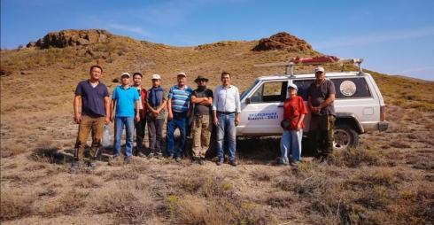 Не изученные ранее петроглифы обнаружили участники жезказганской экспедиции «Білеуті-2021»