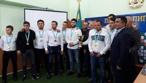 Победителей областного летнего первенства по футзалу наградили в Караганде