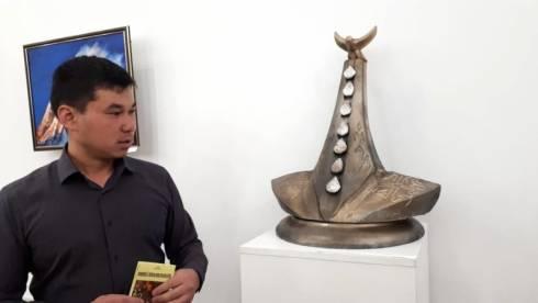 Выставка работ молодых художников открылась в Караганде