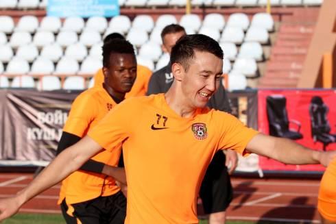 «Шахтер» провел тренировку перед матчем с «Ордабасы»