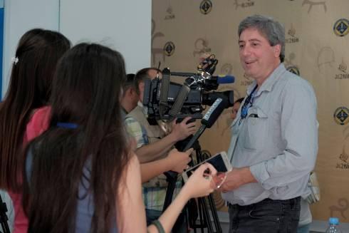 Первые участники Международного фестиваля музыки «Жезкиік» прибыли в Улытау