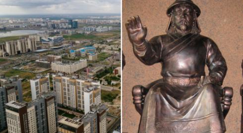 Три памятника сыну Чингисхана могут установить в Казахстане