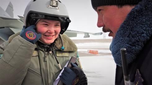 В небе все равны: На карагандинской авиабазе служит единственная в Казахстане девушка - лётчик-истребитель