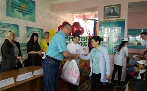 Благотворительный фонд «Мир Детства» оказал помощь детям из малообеспеченных семей