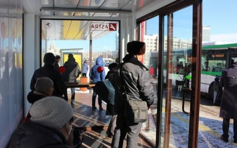 В Караганде до конца января появится теплая остановка