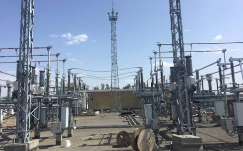 ТОО «Қарағанды Жарық» завершает строительство новой подстанции «Тихоновка»