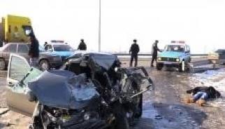 Авария на пришахтинском мосту. Видео