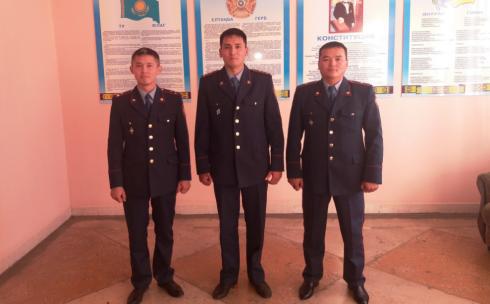 В Караганде выбрали лучшего участкового инспектора полиции