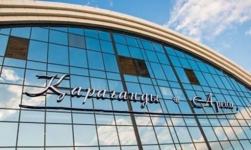 «Сарыарка» подняла под своды домашней арены игровой свитер ветерана карагандинского хоккея Родачева