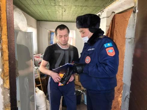Проведены агитационно-рейдовые мероприятия среди населения по пожарной безопасности в быту и отопительный период