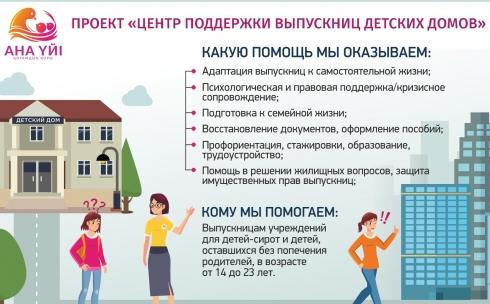 В Караганде работает центр по поддержке выпускниц детских домов
