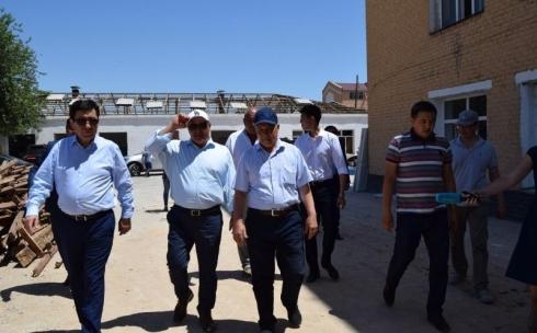 Арысь: строительство идет полным ходом в карагандинском секторе