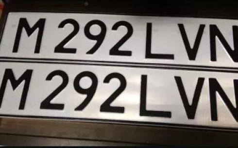 «Тайный покупатель». В Караганде нелегально изготавливаются дубликаты госномеров на автомобили