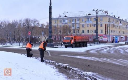 Аким Карагандинской области одобрил предложение приобретения 15 единиц техники для содержания автомобильных дорог