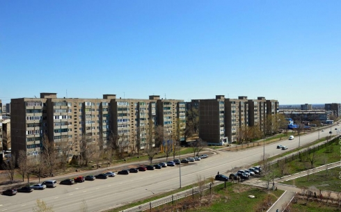 Вид с крыши КарГУ