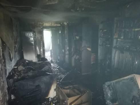 Пожарные спасли 7 человек из пожара в Карагандинской области