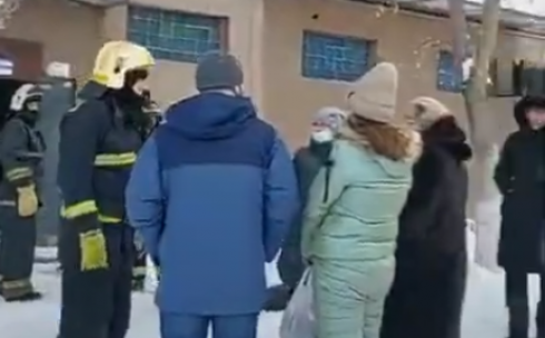 Утечка газа произошла в жилом доме Караганды по улице Сатыбалдина