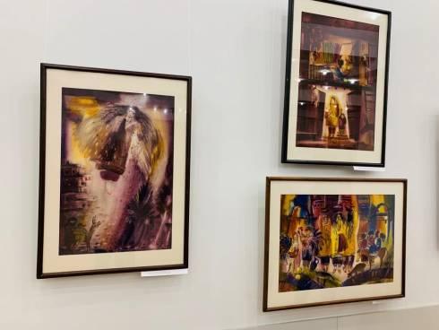 В музее ИЗО открылась персональная выставка Людмилы Смирновой