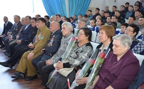 В Караганде чествовали ветеранов войны в Афганистане