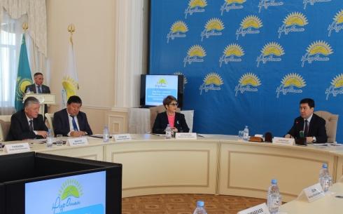 Ерлан Кошанов принял участие в конференции областного филиала партии «Нұр Отан»