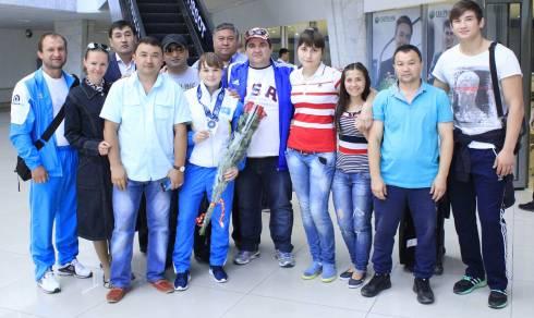 Карагандинка завоевала серебро на чемпионате мира
