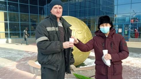 Карагандинские волонтёры запустили акцию добра