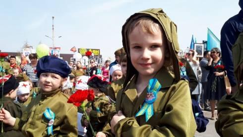 В Карагандинской области с размахом отметили День Великой Победы