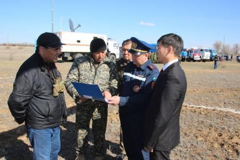 Оценка паводковой ситуации на территории Карагандинской области