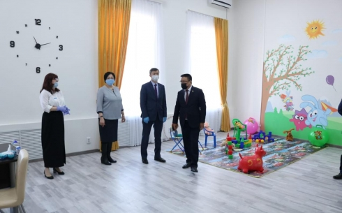 В Караганде завершился ремонт в здании ювенального суда