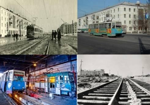 В Темиртау отметили 60-летие трамвайного парка