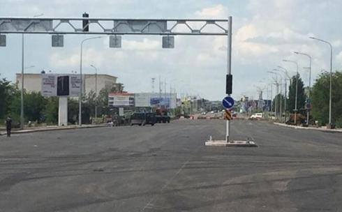 В Караганде доступным для проезда станет участок проспекта Республики