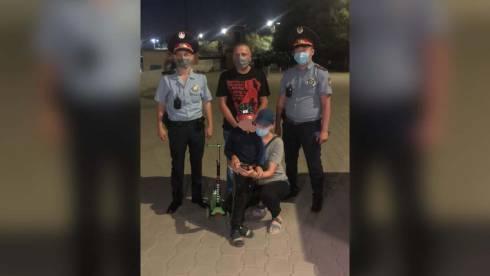 Пропавшего мальчика нашли и вернули родителям полицейские Караганды