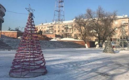 Лишь трети опрошенных карагандинцев нравится новогоднее оформление города