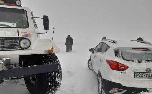 40 человек спасено на дорогах Карагандинской области за прошедшую ночь