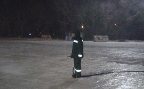 Планируется, что ледовые катки Караганды, начнут работу к середине декабря