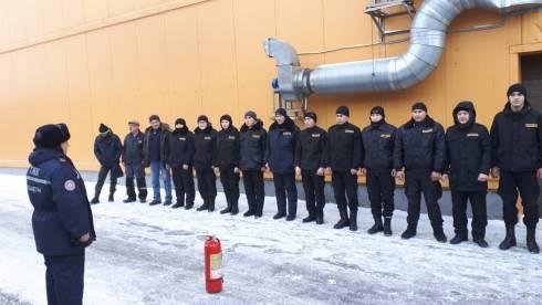 В торгово-фермерском центре «Алтын Арба» проведены занятия
