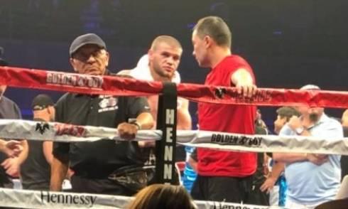 Руслан Мадиев потерпел первое поражение в профи