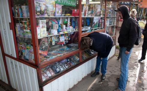 В Караганде в оживленные точки города вернут газетные киоски