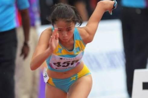 Карагандинка завоевала золотую медаль на чемпионате Азии по лёгкой атлетике
