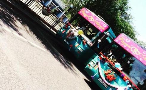 Свадебный автобус: лимузин по-карагандински