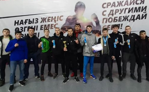 Карагандинцы успешно выступили на кубке РК по смешанным боевым единоборствам (ММА) среди любителей