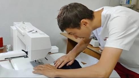Начинающий предприниматель производит одежду под маркой Made in Balkhash