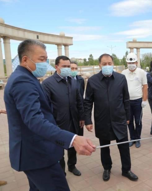Вице-премьер-министр Казахстана Ералы Тугжанов с рабочей поездкой посетил Жезказган и Улытау