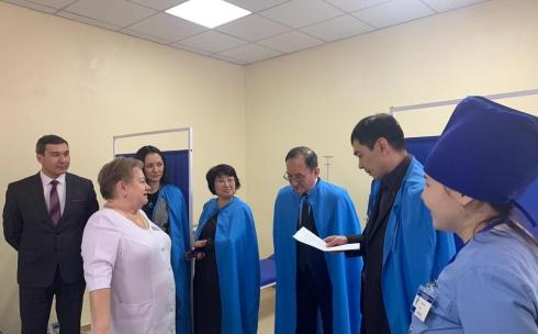 Медицинские организации Карагандинской области посещает рабочая группа Министерства здравоохранения