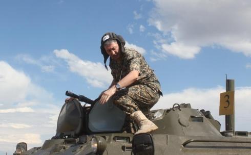 В Караганде идут учебно-методические сборы офицеров Национальной гвардии