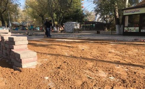 Качество новой брусчатки в Центральном парке Караганды соответствует стандартам