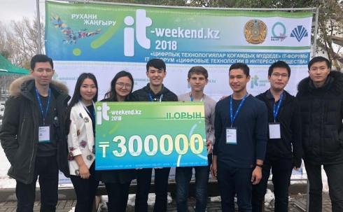 В Караганде успешно работают проекты «IT-WEEKEND.KZ – 2018»
