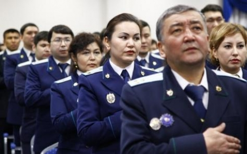 Прокуратура Карагандинской области провела спартакиаду в честь праздничных дат