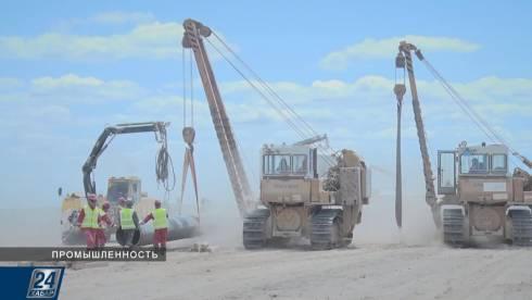 В Казахстане отстроили половину газопровода «Сарыарка»